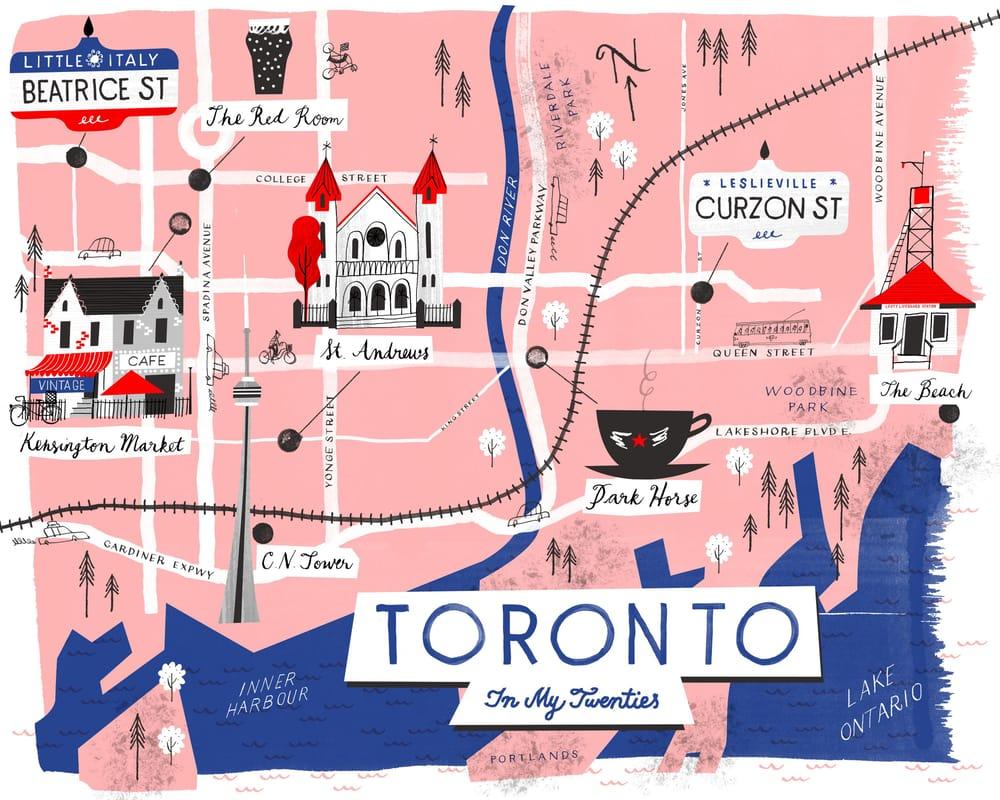 Toronto in My Twenties - image 7 - student project