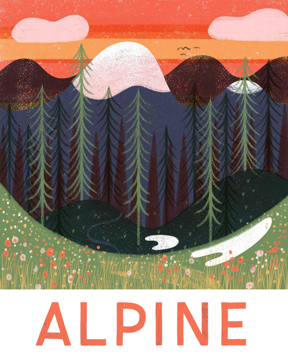A is for Alpine - image 2 - student project