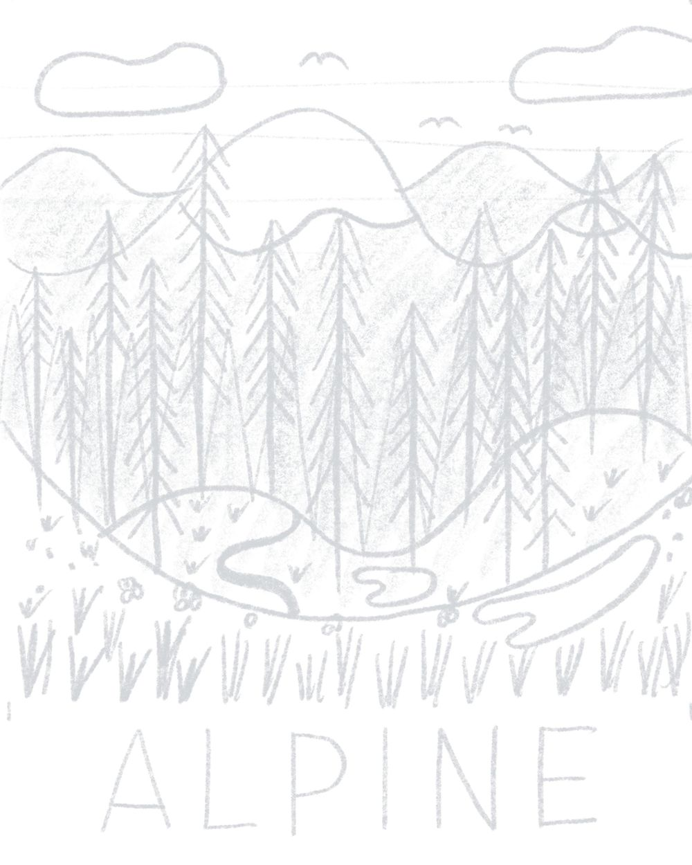 A is for Alpine - image 1 - student project