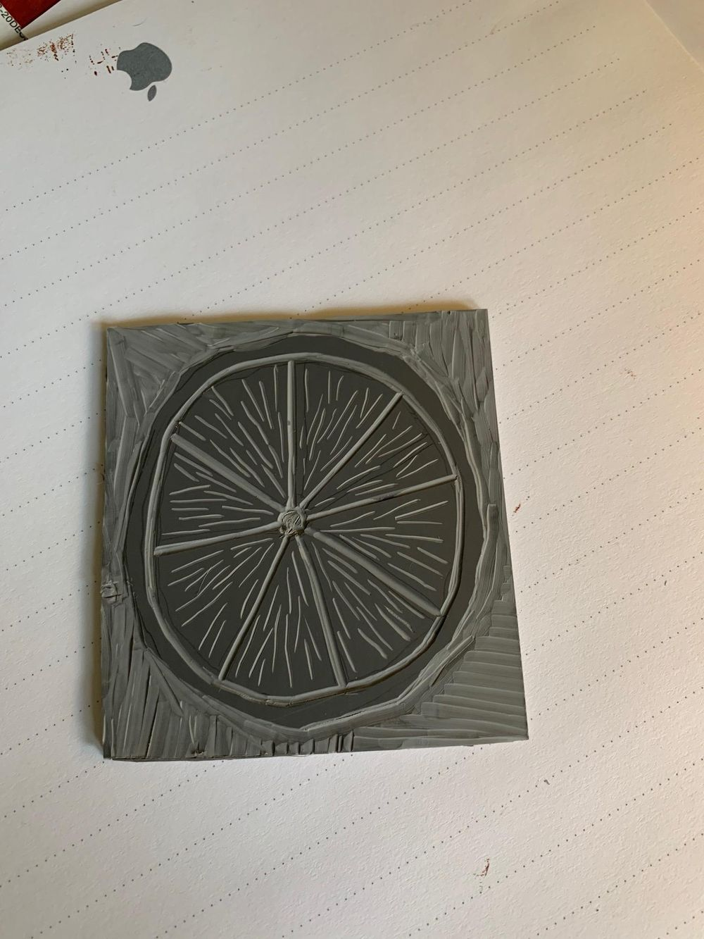 Limes on Lino - image 2 - student project