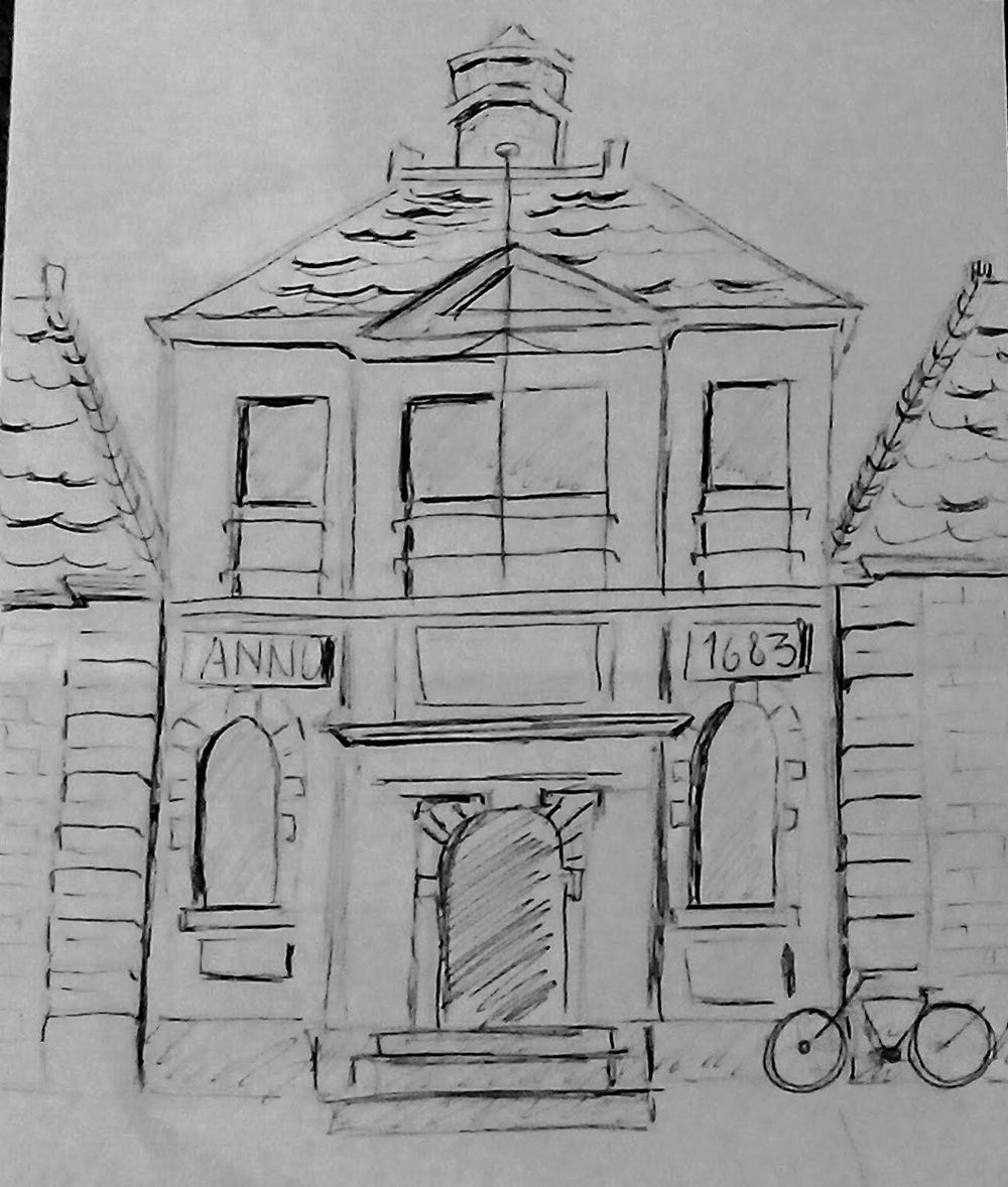 Urban Sketch - image 1 - student project