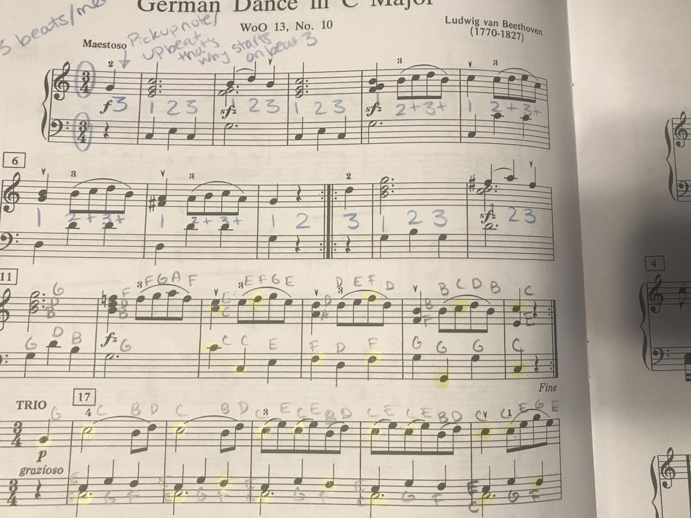 Example Project: German Dance in C Major - image 1 - student project