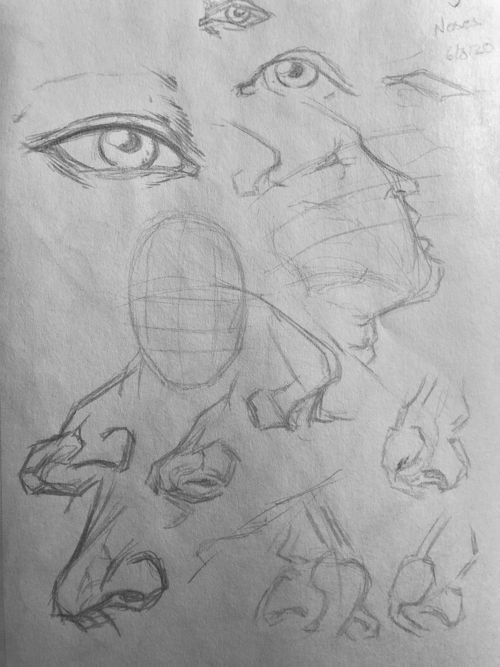 Superhero Head Studies - image 3 - student project