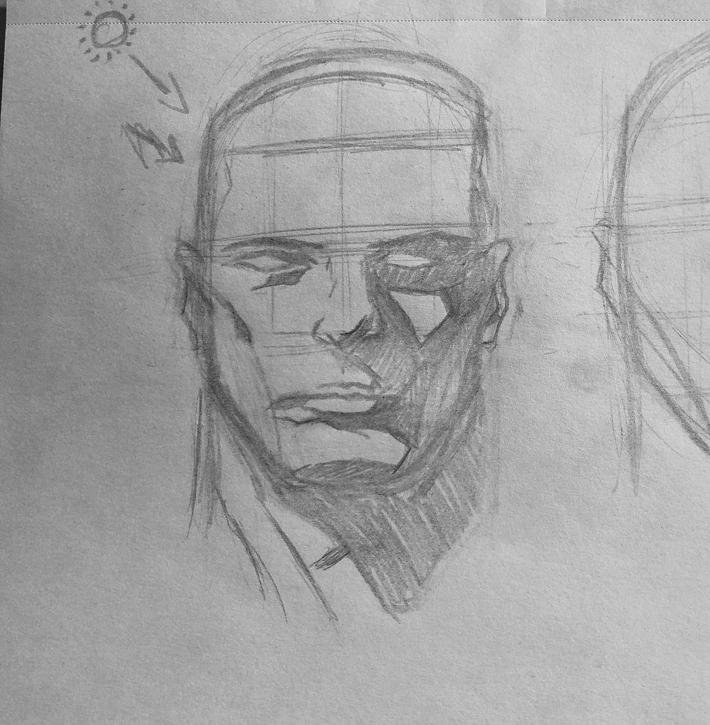 Superhero Head Studies - image 2 - student project