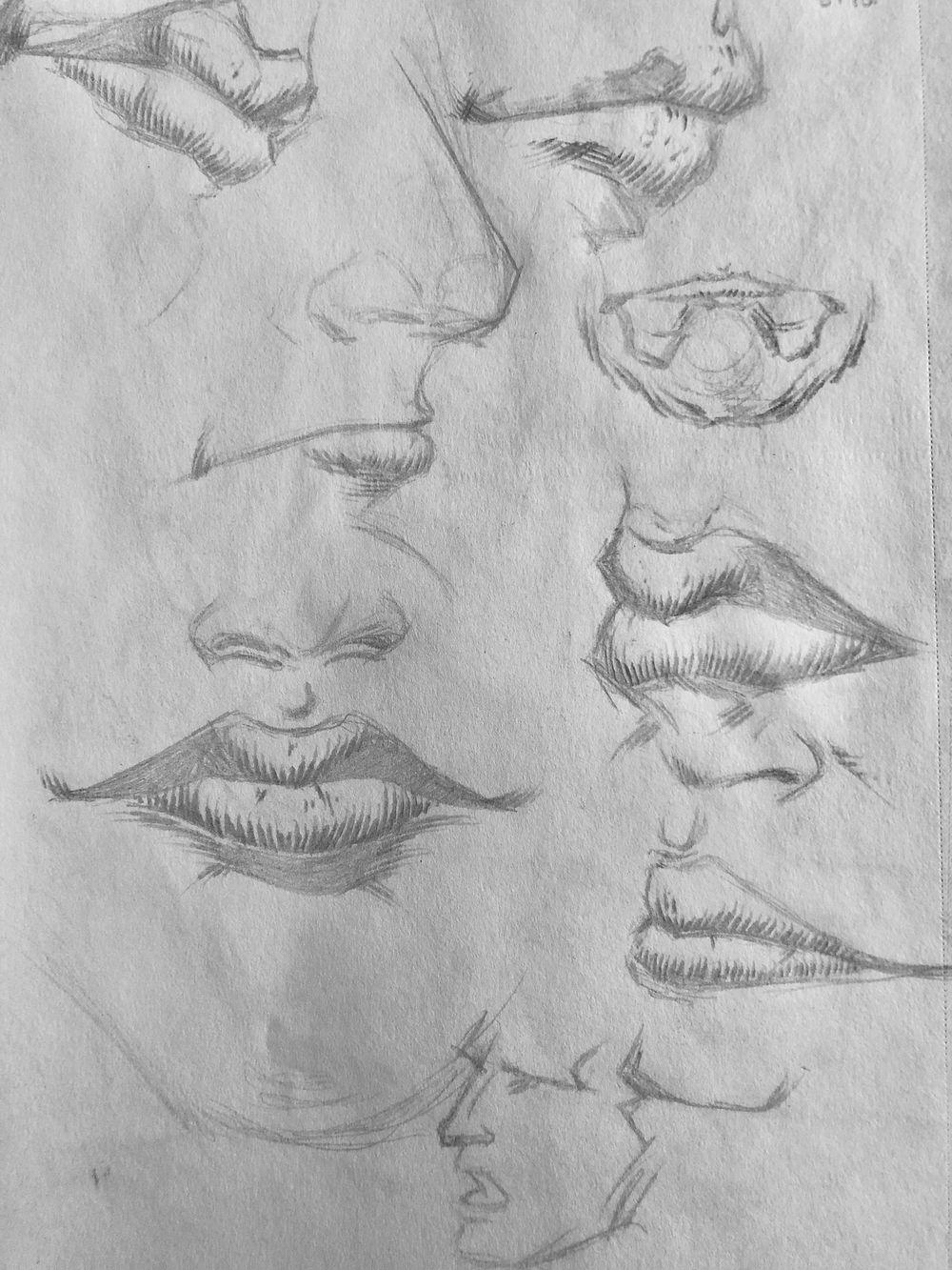 Superhero Head Studies - image 5 - student project