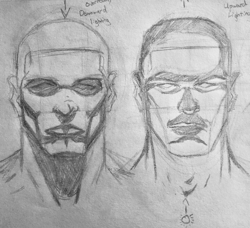 Superhero Head Studies - image 1 - student project