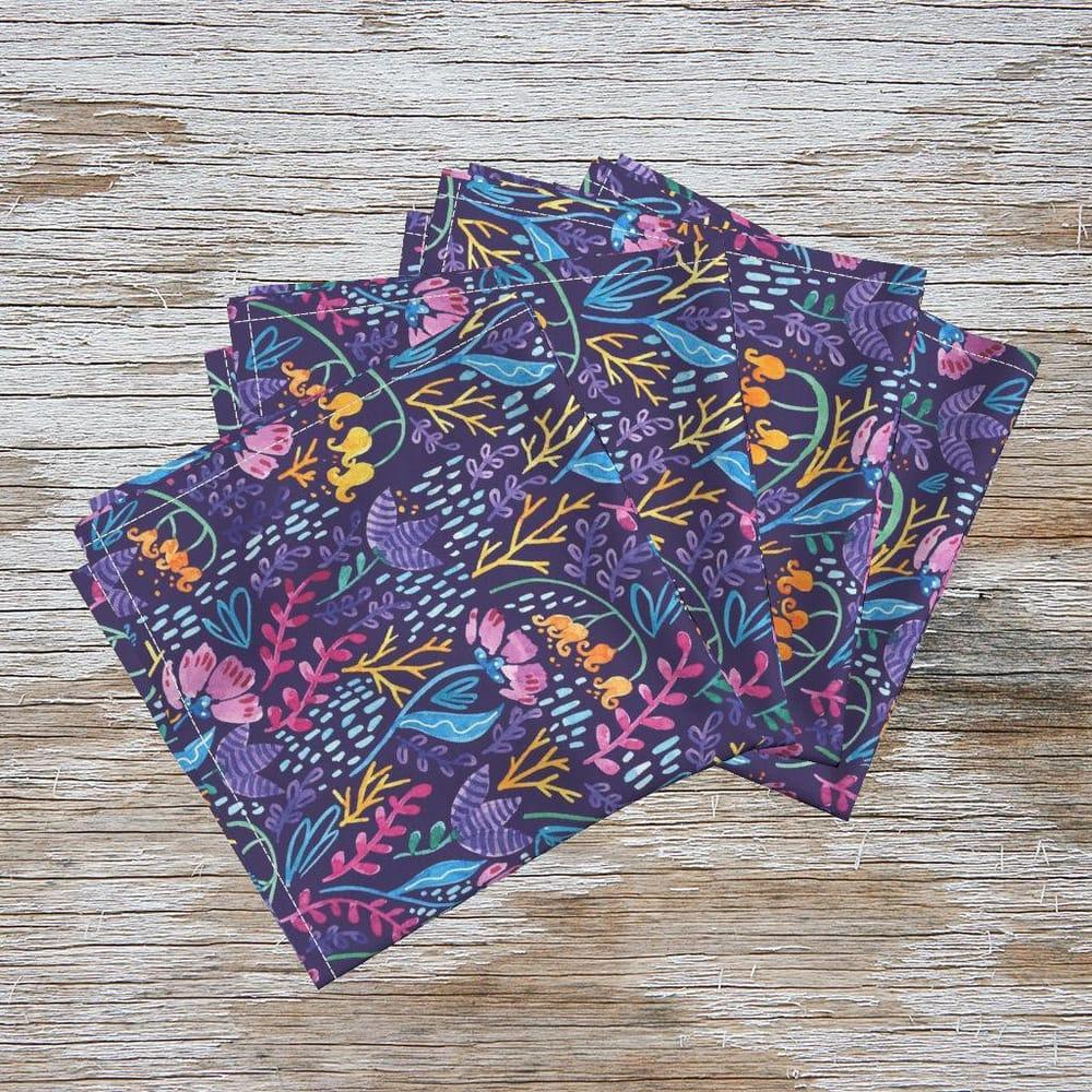 Watercolor Wonderland Flowers Pattern - image 3 - student project