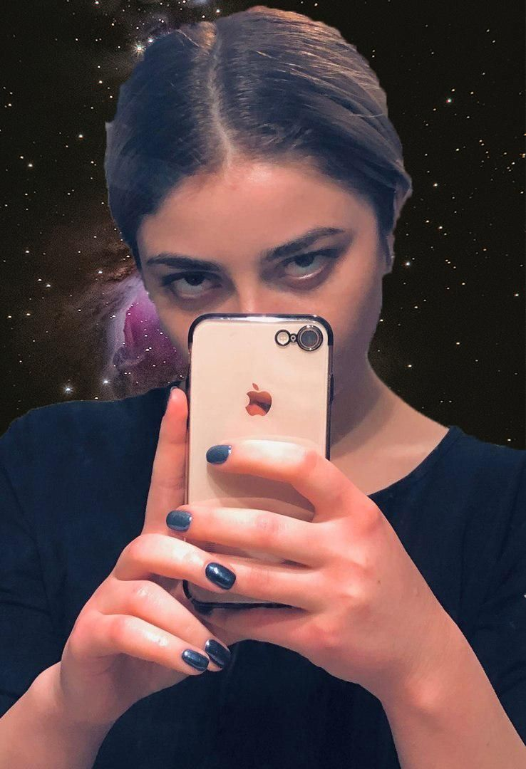 My work with the friend's selfie - image 2 - student project