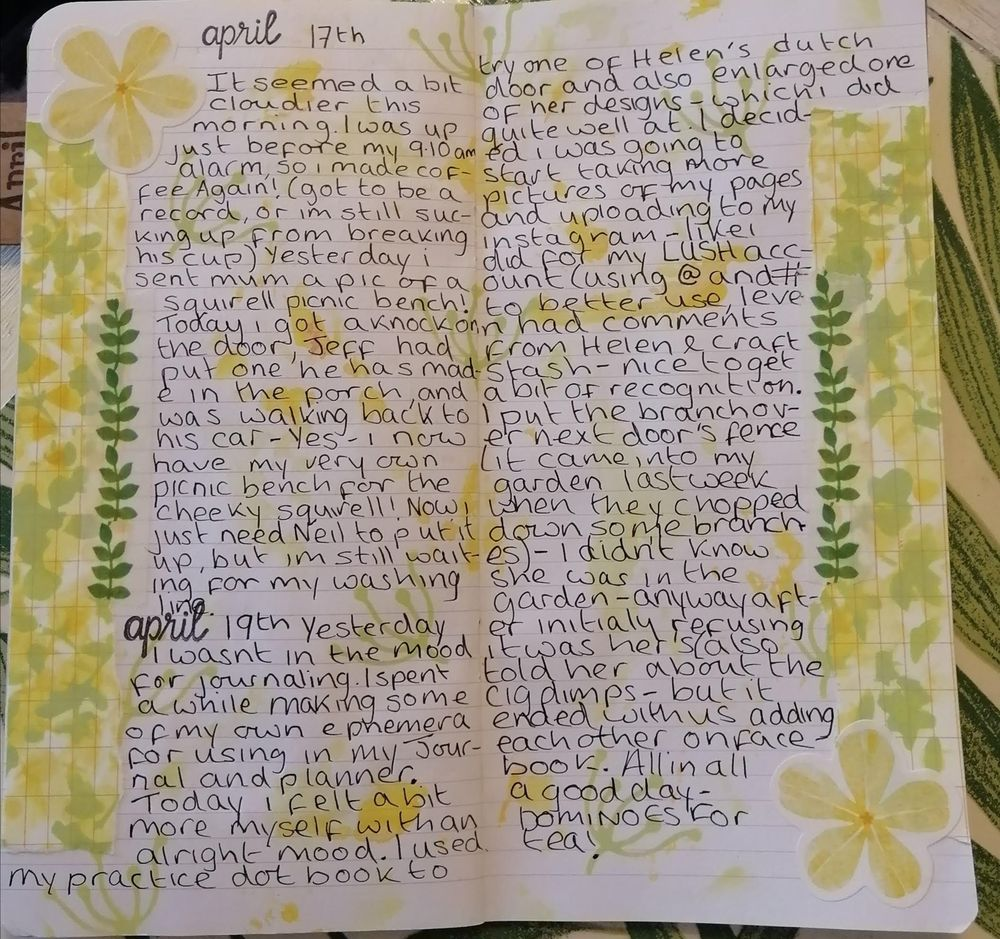 Creative /Dailey journaling - image 1 - student project