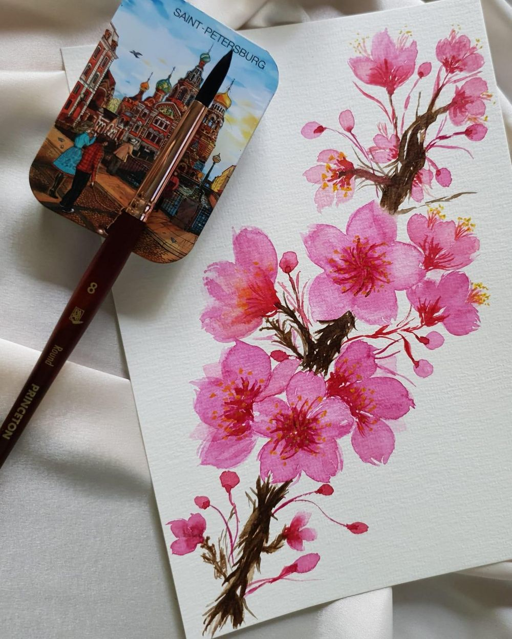 Cherry Blossom Branch - image 1 - student project