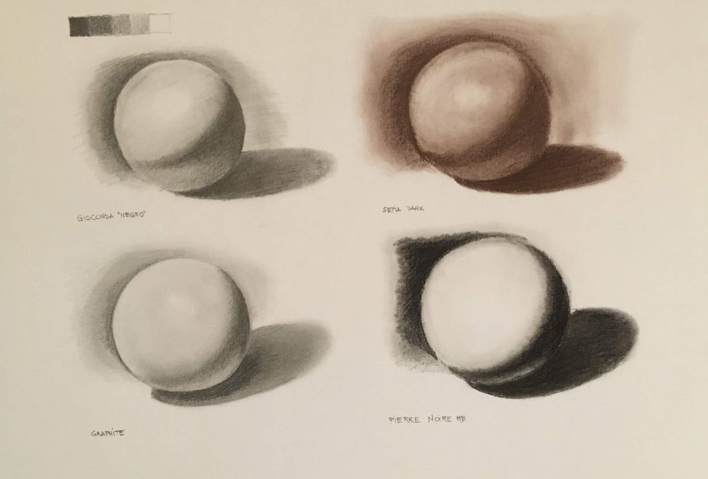 Shading with tissues and stumps - image 1 - student project