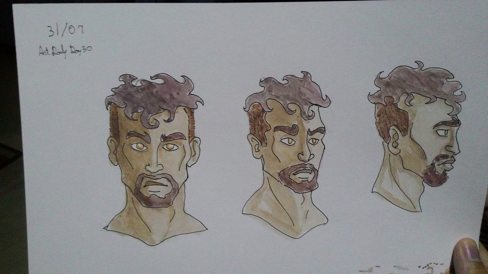 Some manly faces - image 1 - student project