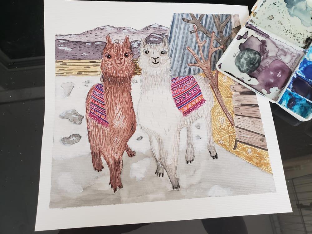 Llamas - image 1 - student project