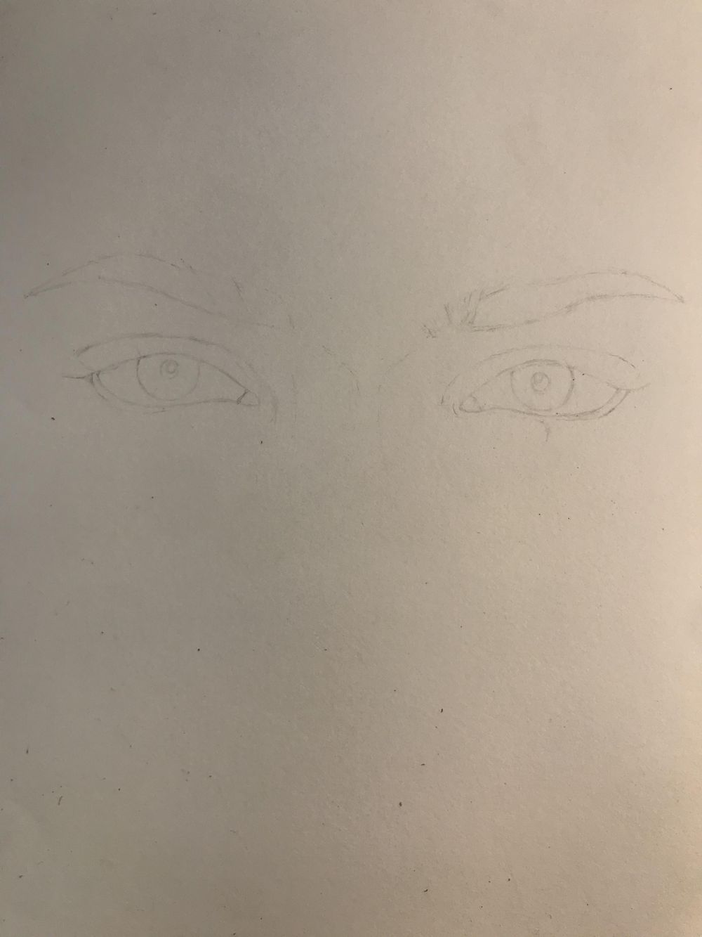 Eyes Sketch - image 1 - student project