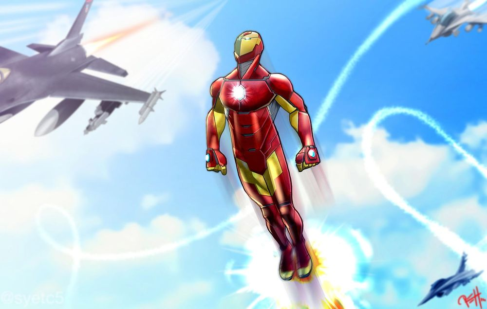 Ironman - image 1 - student project