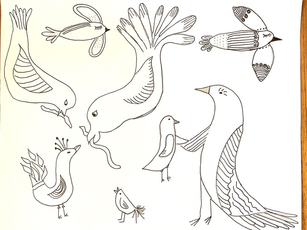Birds with personality - image 2 - student project