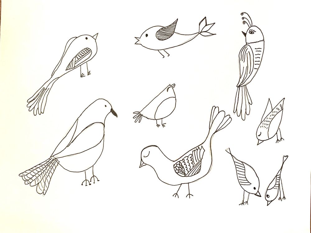 Birds with personality - image 1 - student project