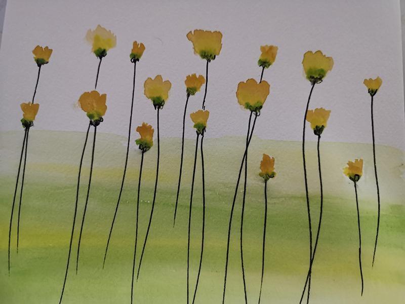 Botanical WaterColour - image 2 - student project