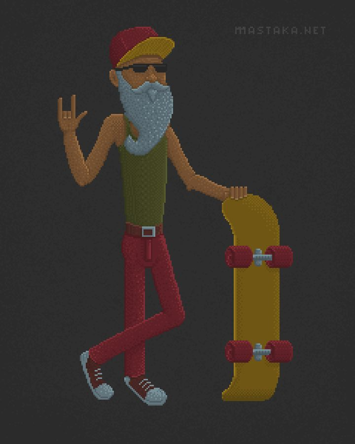Old Skater: Colors - image 4 - student project