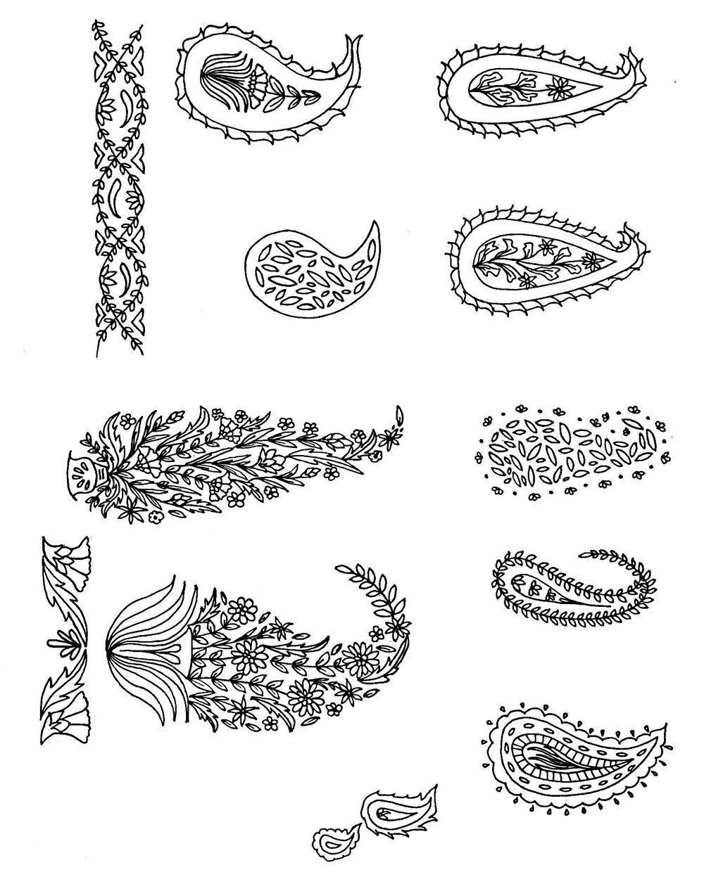 Paisley prints - image 1 - student project