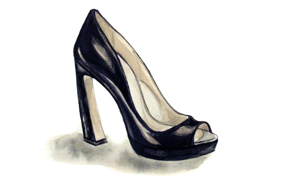 Painting Shoes - image 6 - student project