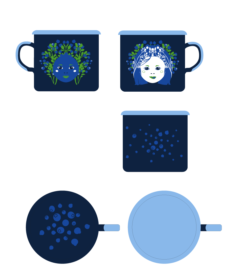 Bilberry queen - image 6 - student project