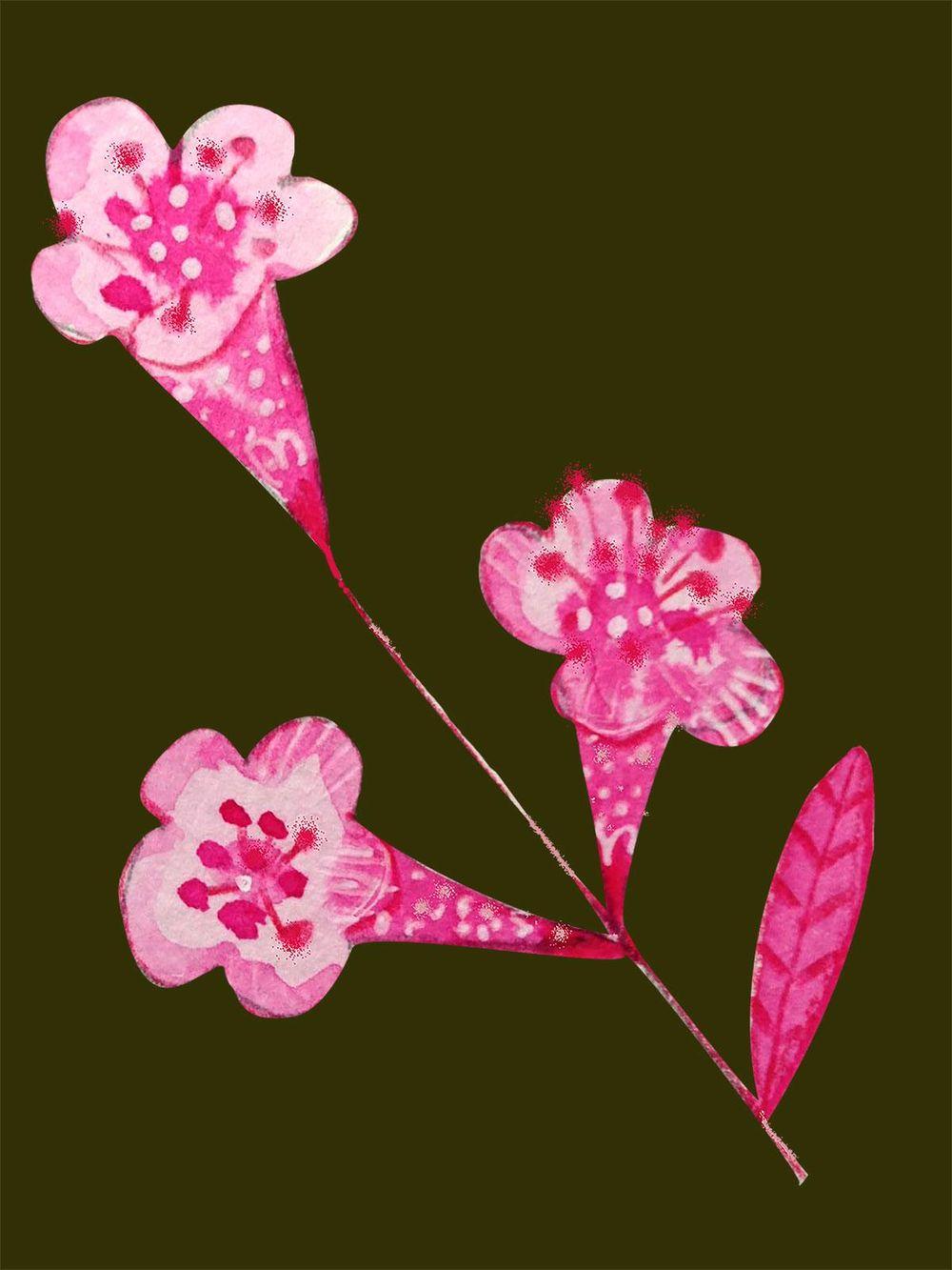 flower cutout practice - image 1 - student project