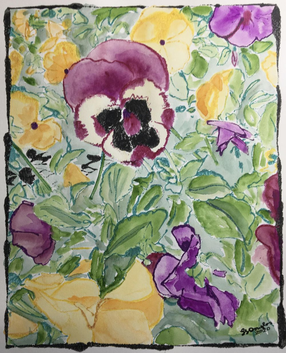 Pansy Garden - image 1 - student project