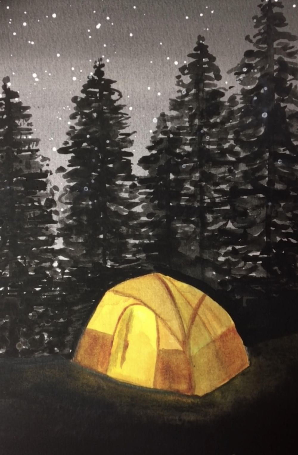 Camping with the Pines - image 1 - student project