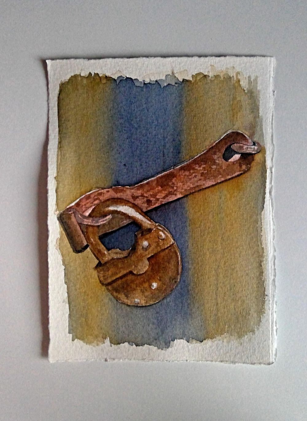 Lock from Pinterest image reference - image 1 - student project