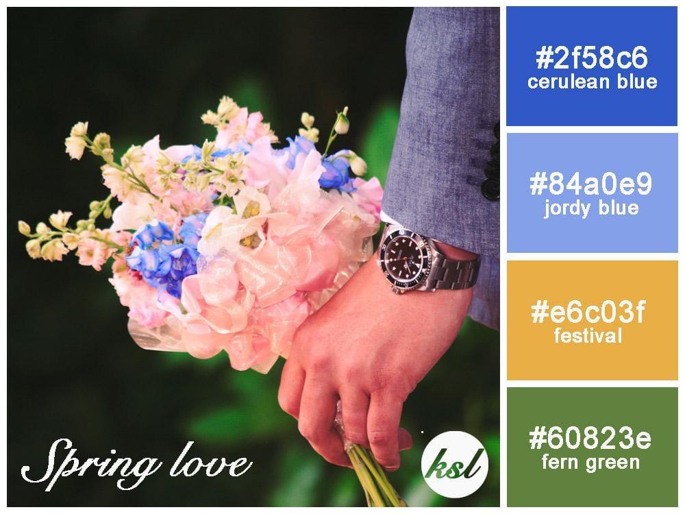 Love Color Scheme - image 1 - student project