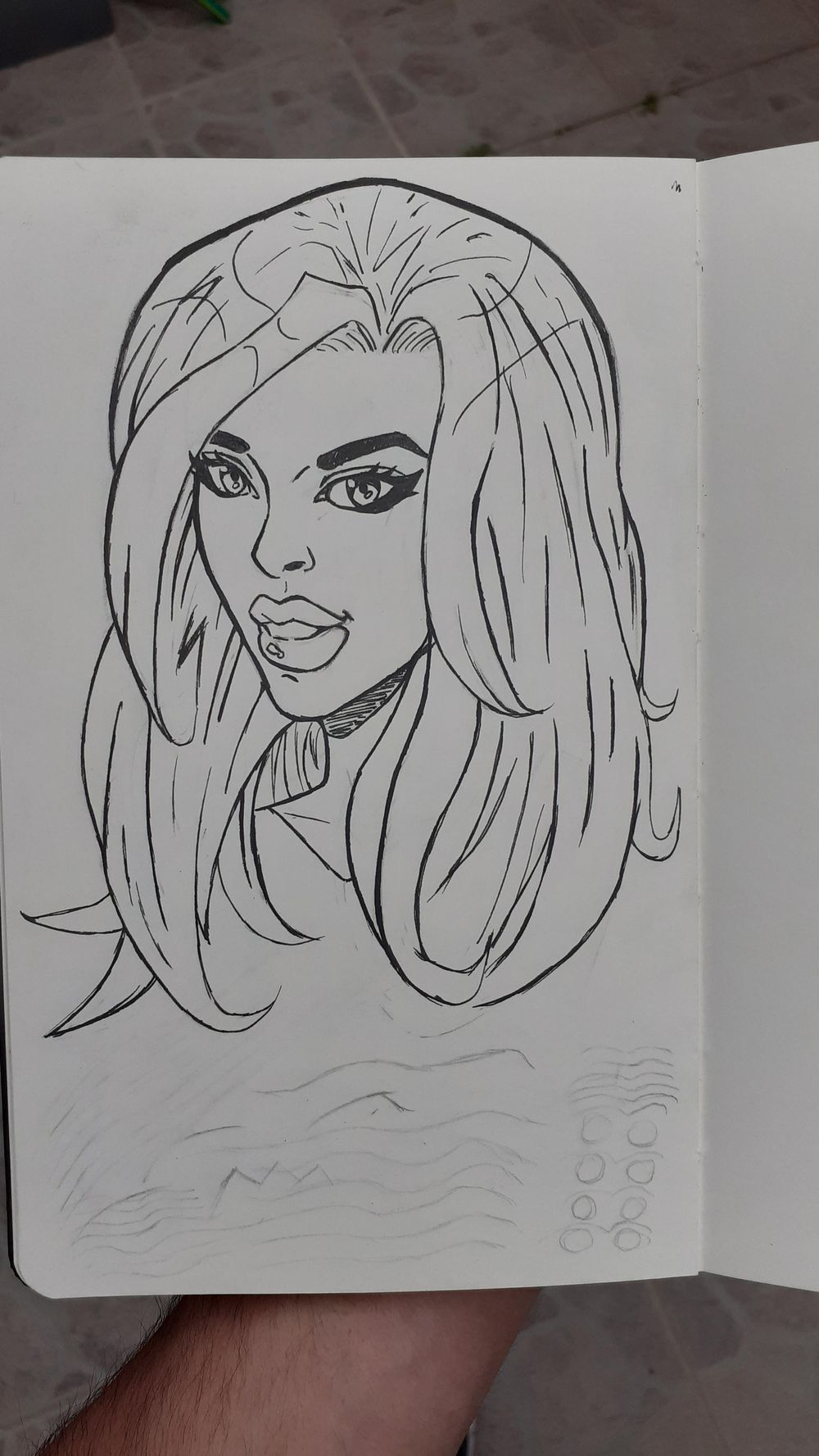 Comic style girl - image 1 - student project