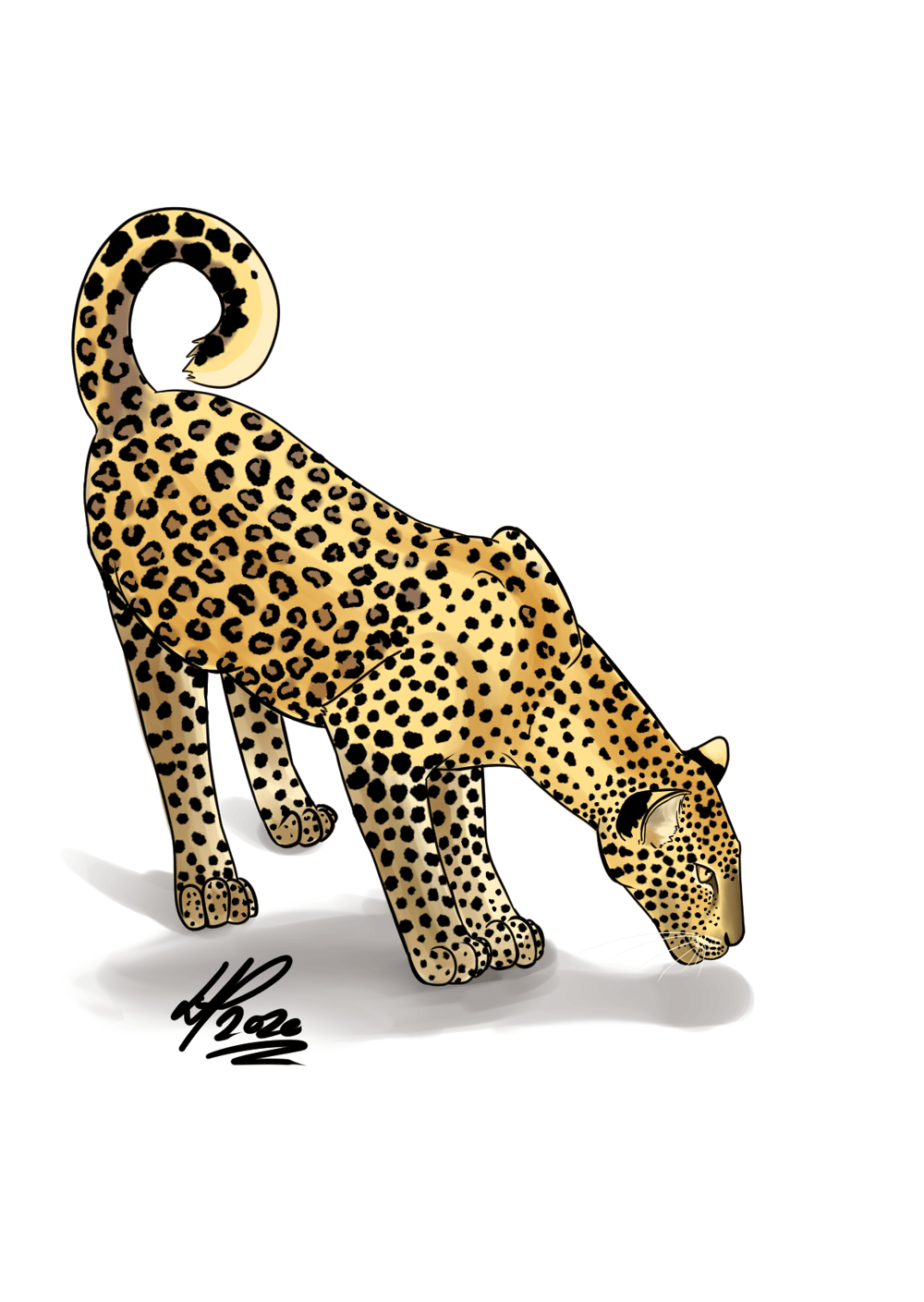 Leopard Versuch 1 (First attempt) - image 1 - student project