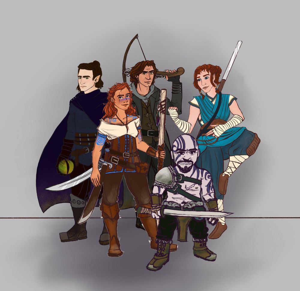 Fantasy and D&D Illustrations - image 1 - student project