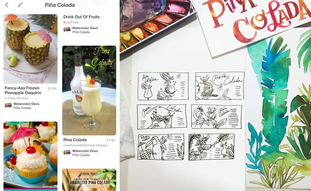 Super Easy Piña Colada - image 1 - student project