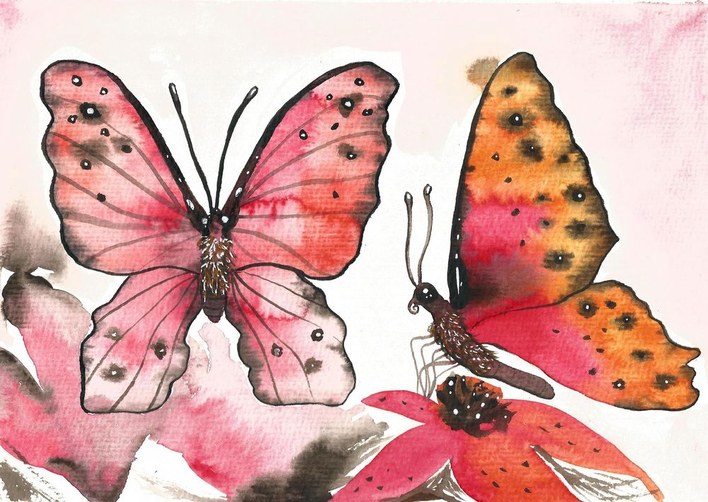 My butterflies :) - image 2 - student project