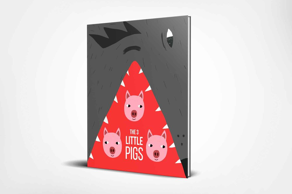 Children's book illustration | 3 Little Pigs | Kevin Foster  - image 7 - student project