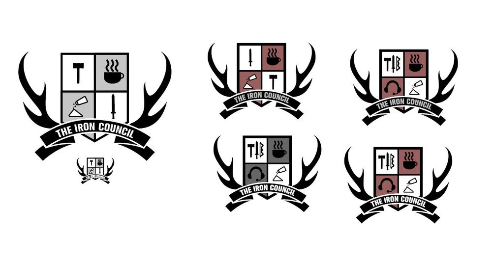 Iron Council crest - image 6 - student project