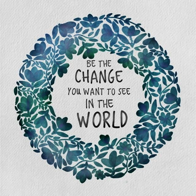 Be the Change - image 1 - student project