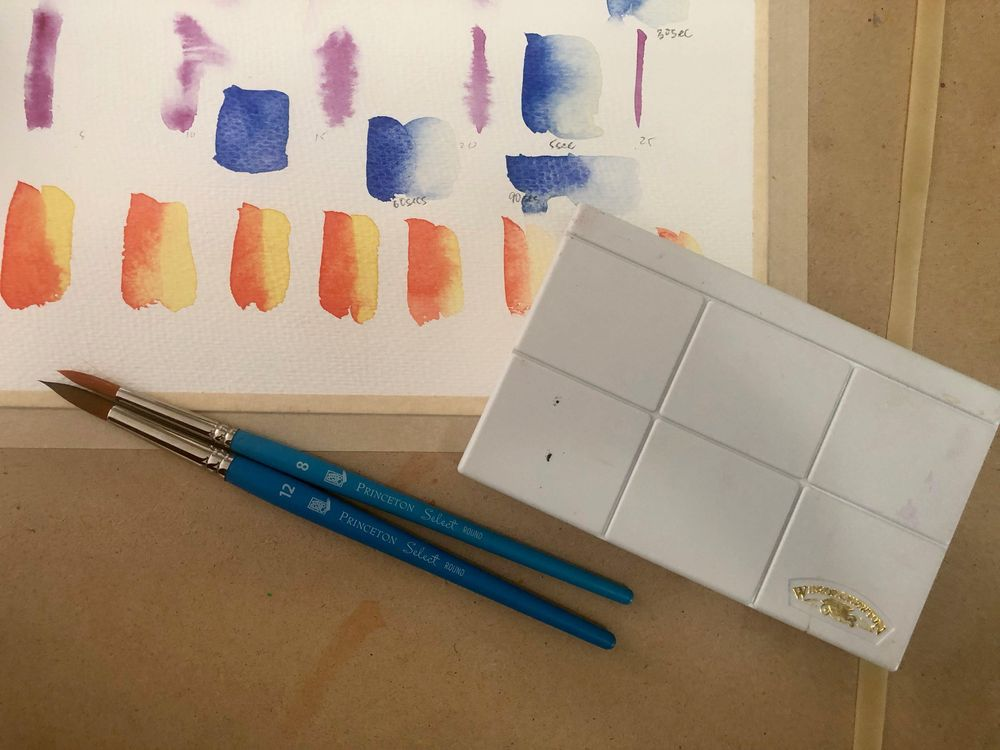 Watercolour Experiments - image 4 - student project