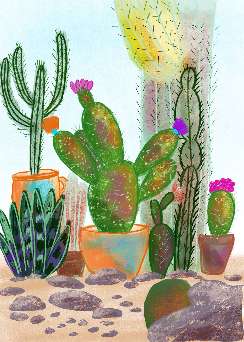 Cacti Garden - image 1 - student project