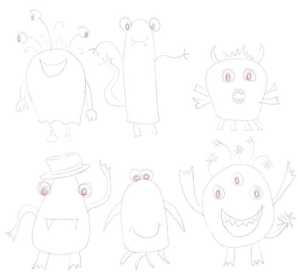 Fun Monsters - image 1 - student project
