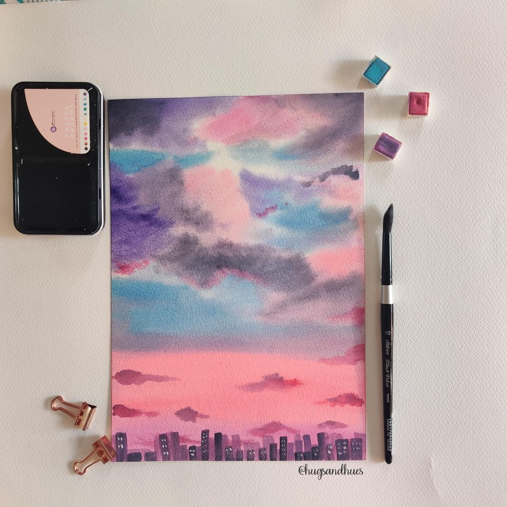 Dreamy Skies - image 1 - student project