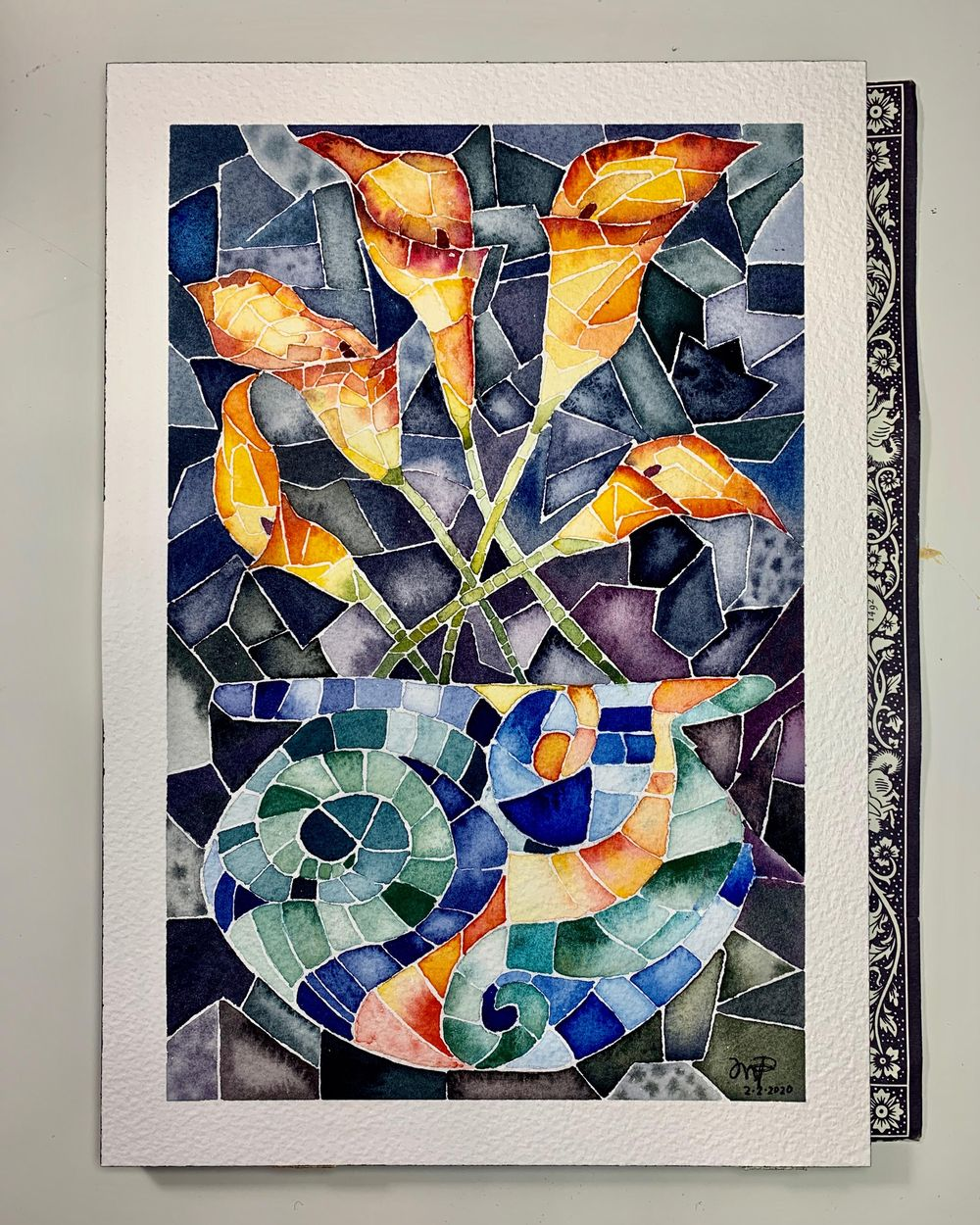 Calla lilies - image 1 - student project