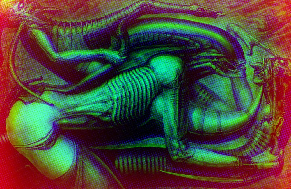 Terror Layered Colour Effect - image 3 - student project
