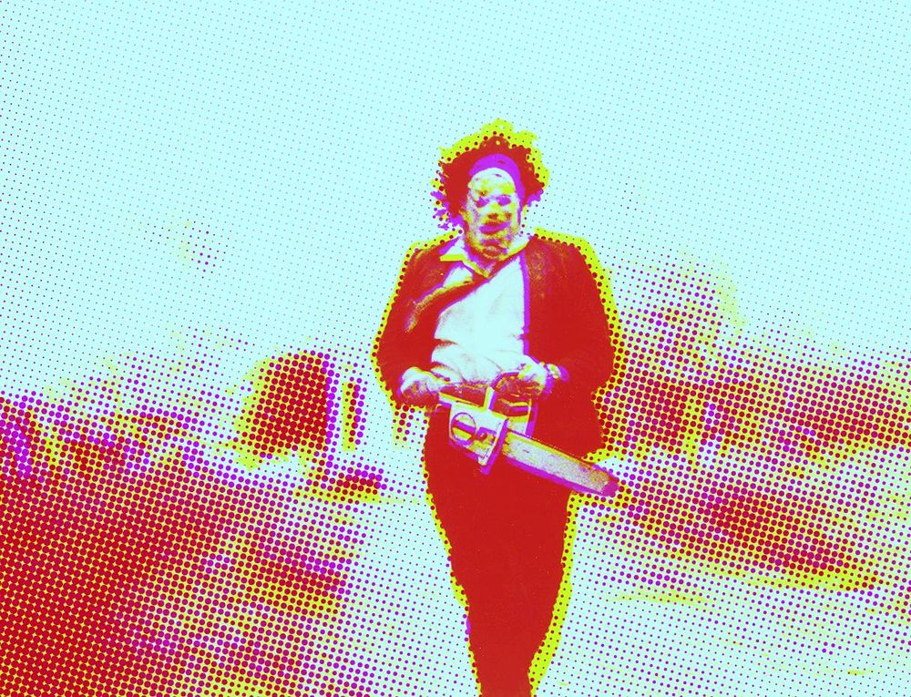 Terror Layered Colour Effect - image 2 - student project