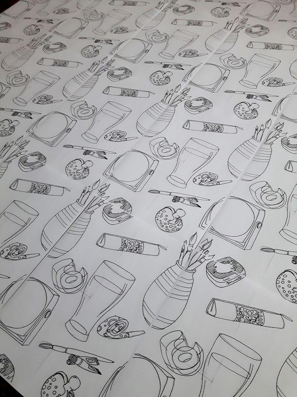 Handmade pattern - image 1 - student project