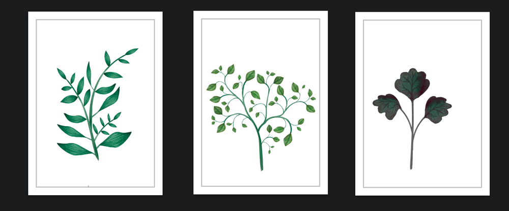 Botanical Scenes in Photoshop - image 3 - student project
