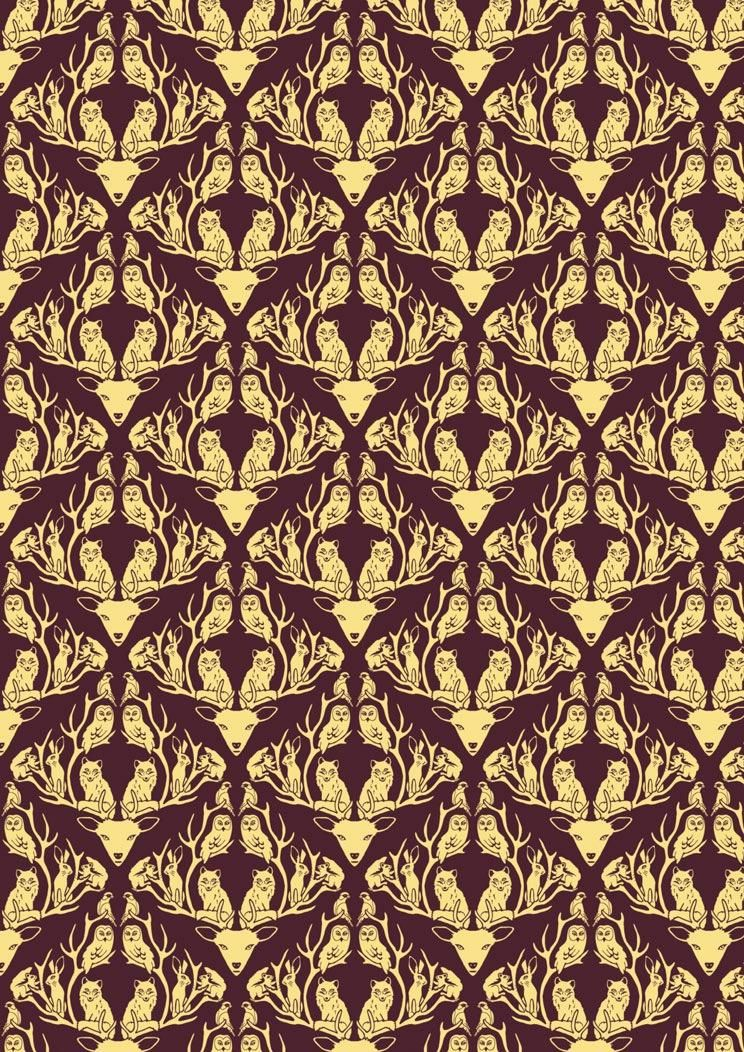 Classic Damask Patterns - image 12 - student project