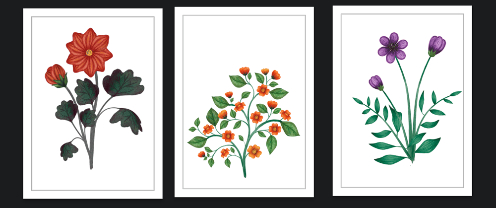 Botanical Scenes in Photoshop - image 4 - student project